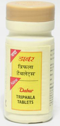 Dabur Triphala Tablets – Natural Colon Cleanser, Bowel Cleanser, Constipation Cure
